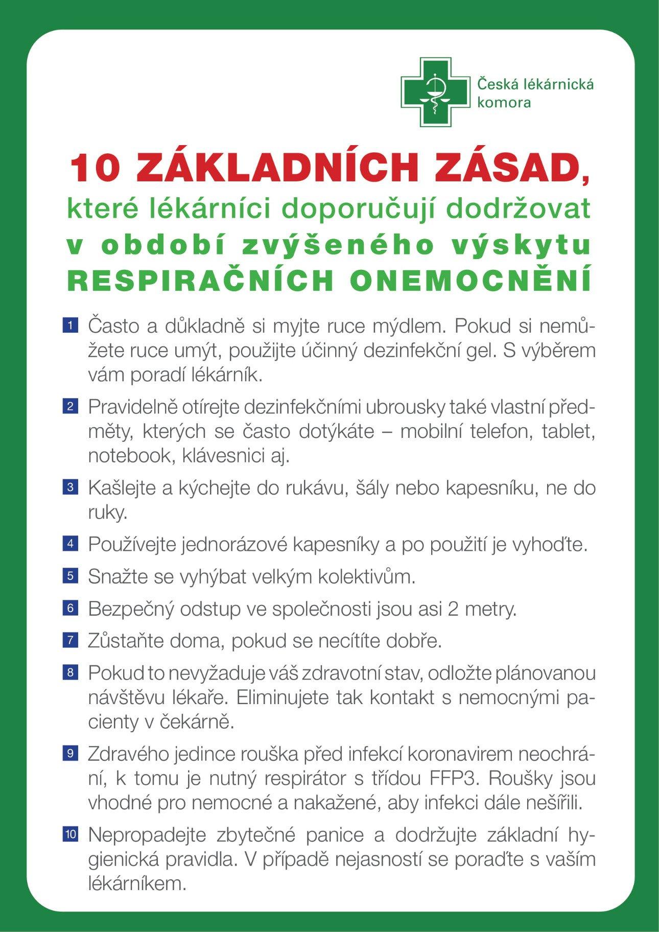 Desatero zásad